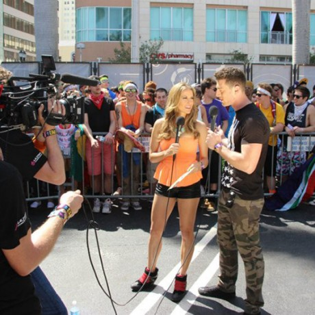 LIVE! with co-host Dylan Landon for UMF TV in Miami 2013