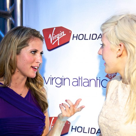 Girl Talk with Ellie Goulding as Virgin's Social Media Reporter