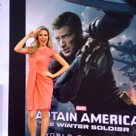 Captain America: The Winter Soldier Red Carpet